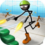 Stickman Run 'n Gun