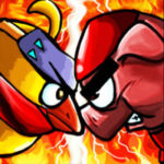 Ninja Chicken 2:shoot'em up